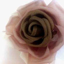 61/2 Mocca Silk Rose
